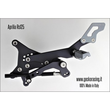 Rearsets Adjustable Aprilia Rs 125 gear