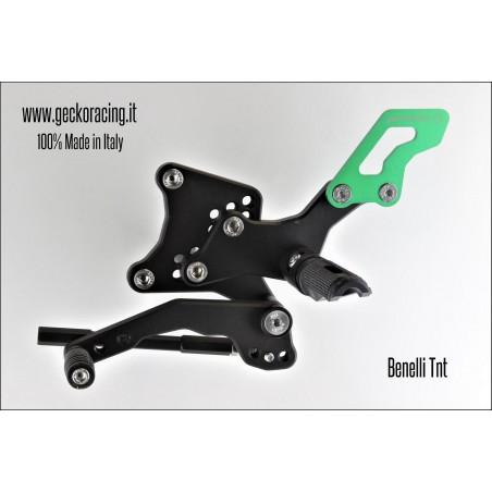 Rearsets Adjustable Benelli Tnt gear