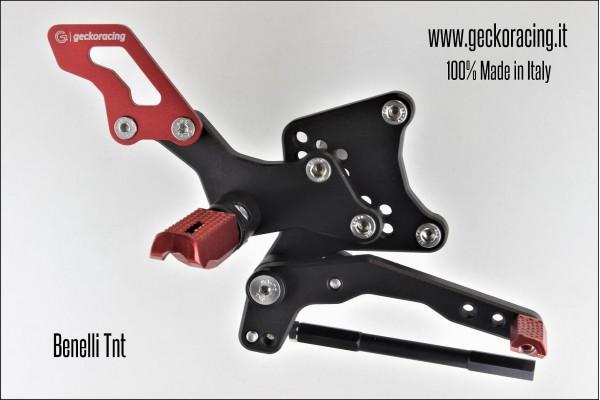 Rearsets Adjustable Benelli Tnt brake