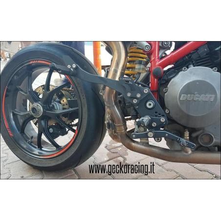 Pedane Ducati Hypermotard 620 796 1000 1100