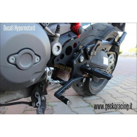 Poggiapiedi Pedane Ducati Hypermotard 620 796 1000 1100