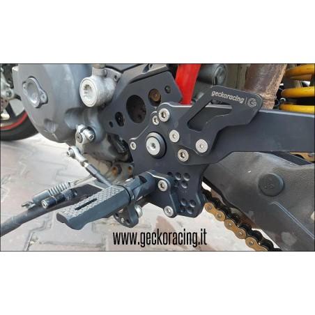 Pedane arretrate Ducati Hypermotard