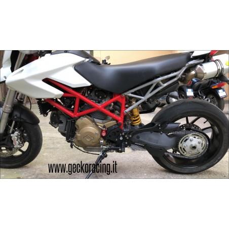 Pedane GeckoRacing Ducati Hypermotard 620 796 1000 1100