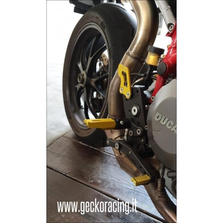 Comandi arretrati Pedane Ducati Hypermotard 620 796 1000 1100