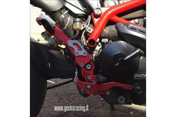 Rearsets brake Spare Parts Ducati Hypermotard 821, 939
