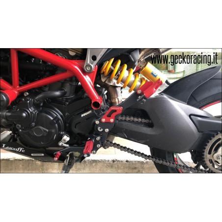 Rearsets Pegs Ducati Hypermotard 821, 939