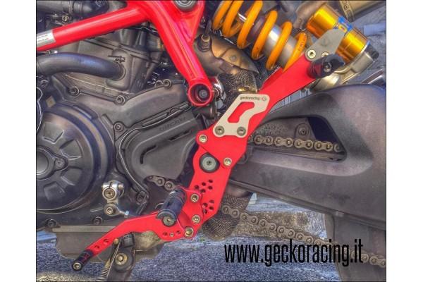 Rearsets Ducati Hypermotard 821, 939
