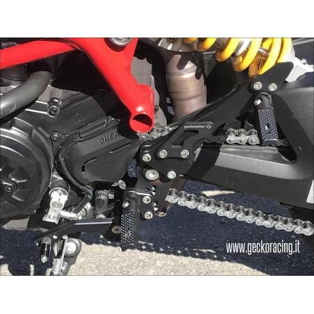 Pegs Rearsets Ducati Hypermotard 821, 939