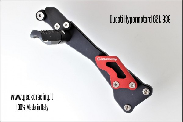 Pillion Pegs Ducati Hypermotard 821
