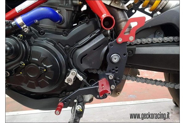 Accessories Rearsets Ducati Hypermotard 821, 939