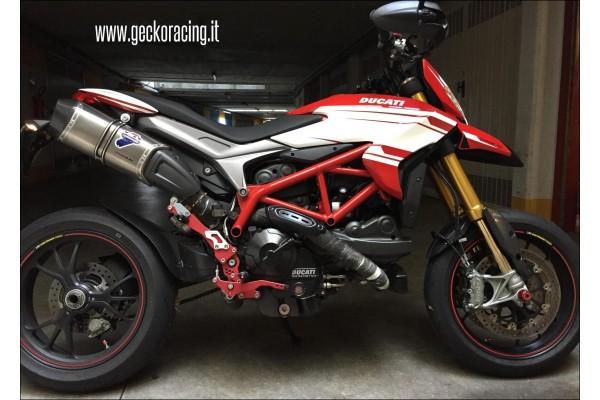 Spare Parts Rearsets Ducati Hypermotard 821, 939