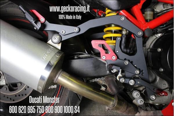 Ricambi leve Pedane Ducati Monster 600 620 695 750 800 900 1000