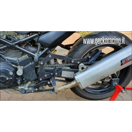 Poggiapiedi Pedane Ducati Monster 600 620 695 750 800 900 1000