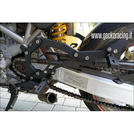 Pedane Ducati Monster 600 620 695 750 800 900 1000