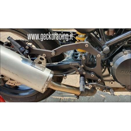 Pedane arretrate regolabili Ducati Monster 600 620 695 750 800 900 1000 S4