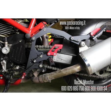 Comandi arretrati Pedane Ducati Monster 600 620 695 750 800 900 1000