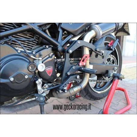 Pedane ricambi cambio Ducati Monster 600 620 695 750 800 900 1000