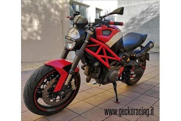 Poggiapiedi Pedane Ducati Monster 696 795 796 1100