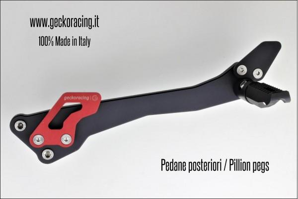 Pedane Passeggero Ducati Monster 696 795 796 1100