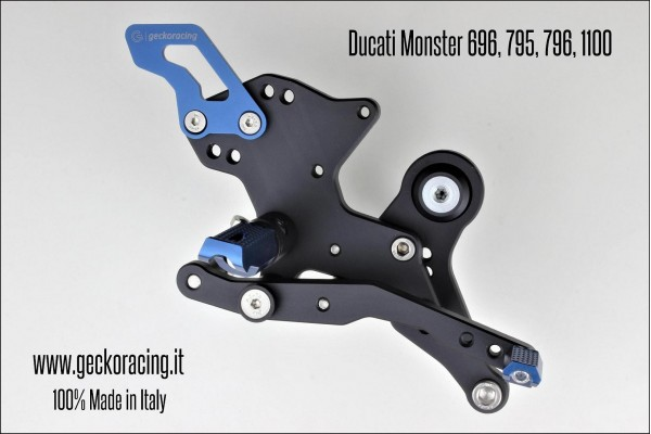 Rearsets Adjustable Ducati Monster 696 795 796 1100 Brake