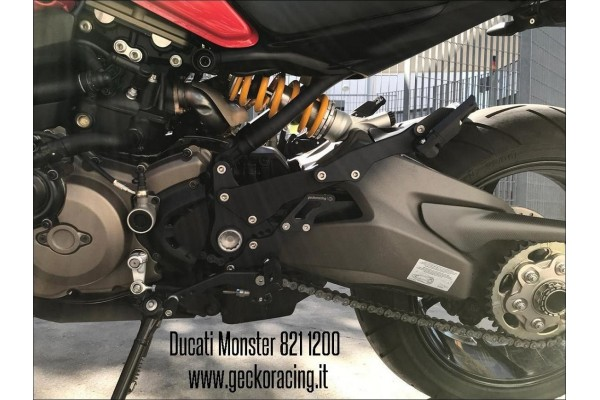 Pegs Rearsets Ducati Monster 821, 1200
