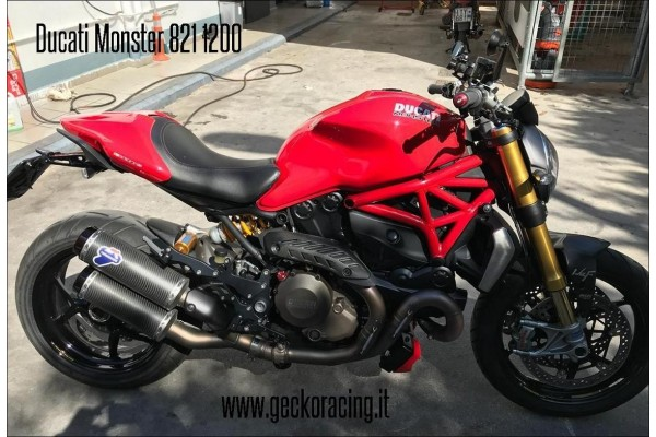 Pedane ricambi freno Ducati Monster 821, 1200