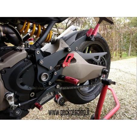 Pedane arretrate accessori Ducati Monster 821, 1200
