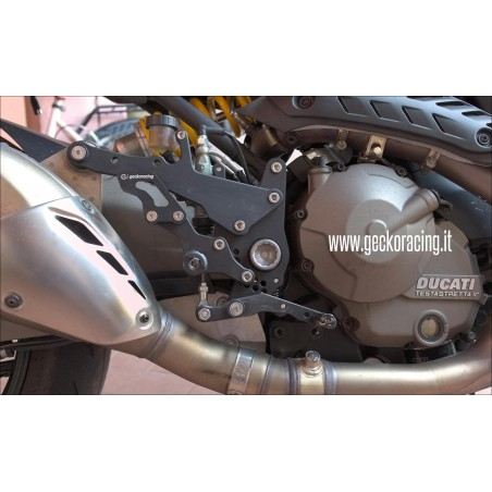 Rearsets Ducati Monster 1200