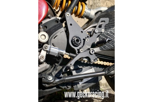 Pegs Rearsets Ducati Monster 821, 1200