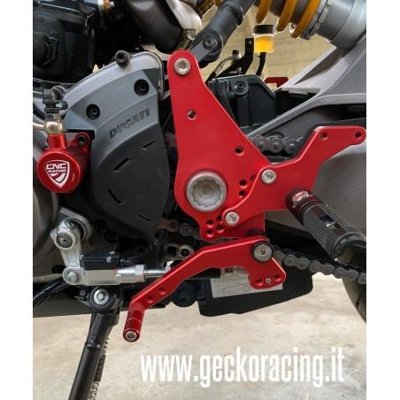Pedane regolabili ricambi Ducati Monster 821, 1200