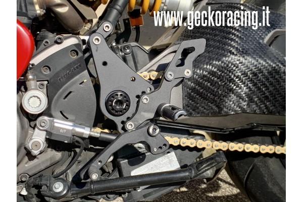 Comandi arretrati Pedane Ducati Monster 821, 1200