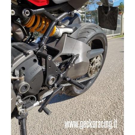 Poggiapiedi Pedane Ducati Monster 821, 1200