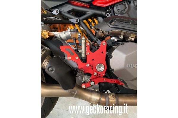 Rear Sets adjustable Ducati Monster 821, 1200