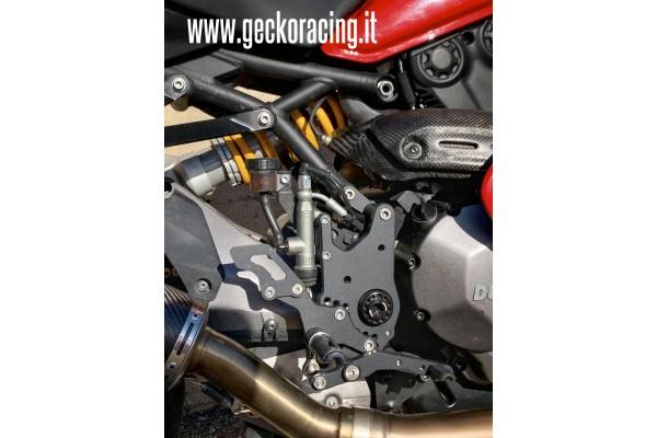 Footboard Rearsets Ducati Monster 821, 1200