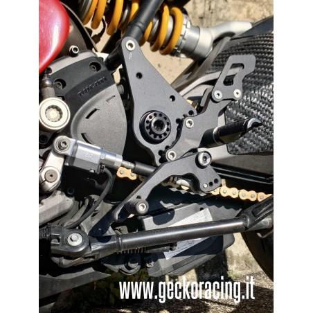 Pedane ricambi freno Ducati SuperSport 939