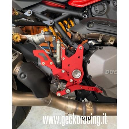 Pedane regolabili ricambi Ducati SuperSport 939
