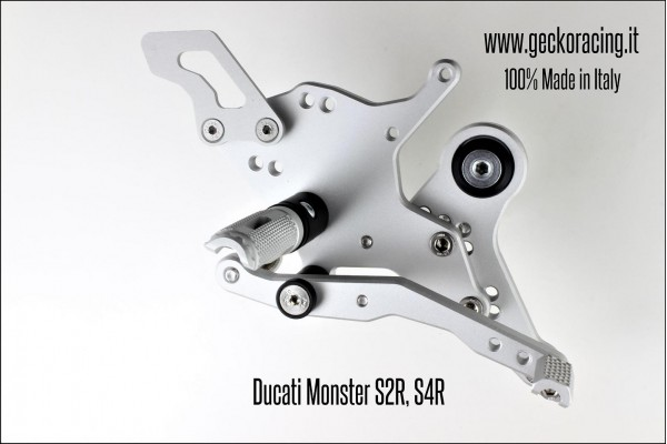 Rearsets Adjustable Ducati Monster S2R, S4R Brake