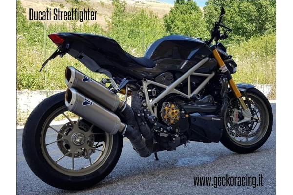 Pedane arretrate accessori Ducati Streetfighter 848 1098 1100