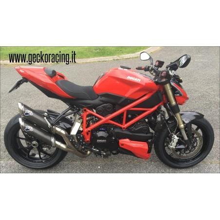 Pedane arretrate regolabili Ducati Streetfighter 848 1098 1100