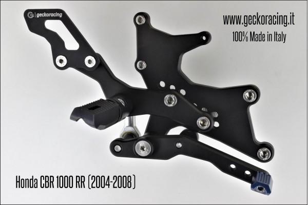 Pedane arretrate regolabili Honda CBR 1000 RR Freno