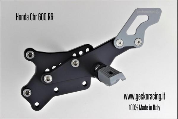 Pedane arretrate regolabili Honda CBR 600 RR Cambio