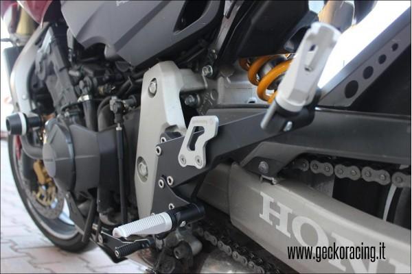 Pedane regolabili ricambi Honda Cbr600 F
