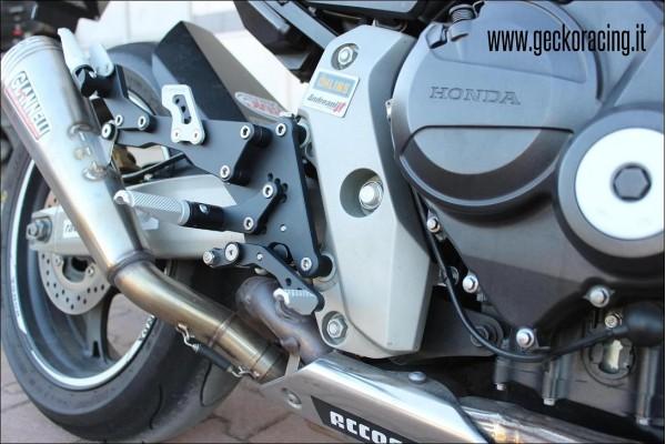 Pedane regolabili ricambi Honda Hornet