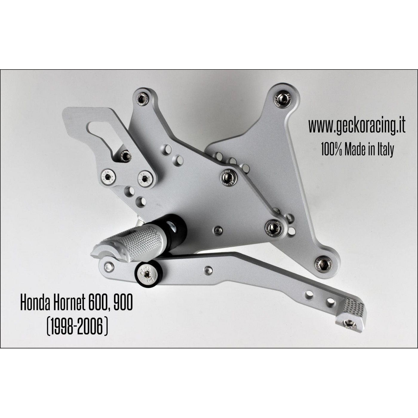 Rearsets Adjustable Honda Hornet 600, 900 Freno