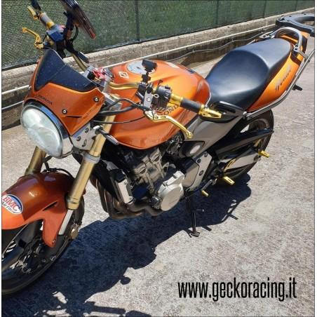 Pedane arretrate accessori Honda Hornet 600, 900