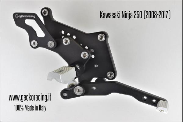 Rearsets Adjustable Kawasaki Ninja 250 Brake