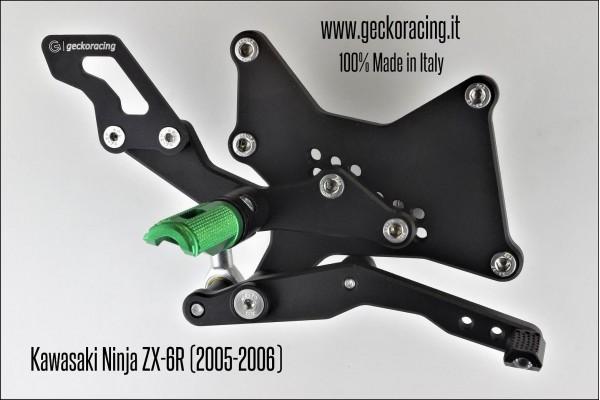 Rearsets Adjustable Kawasaki Ninja Zx-6r Brake