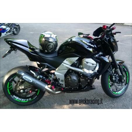 Pedane ricambi cambio Kawasaki Z750