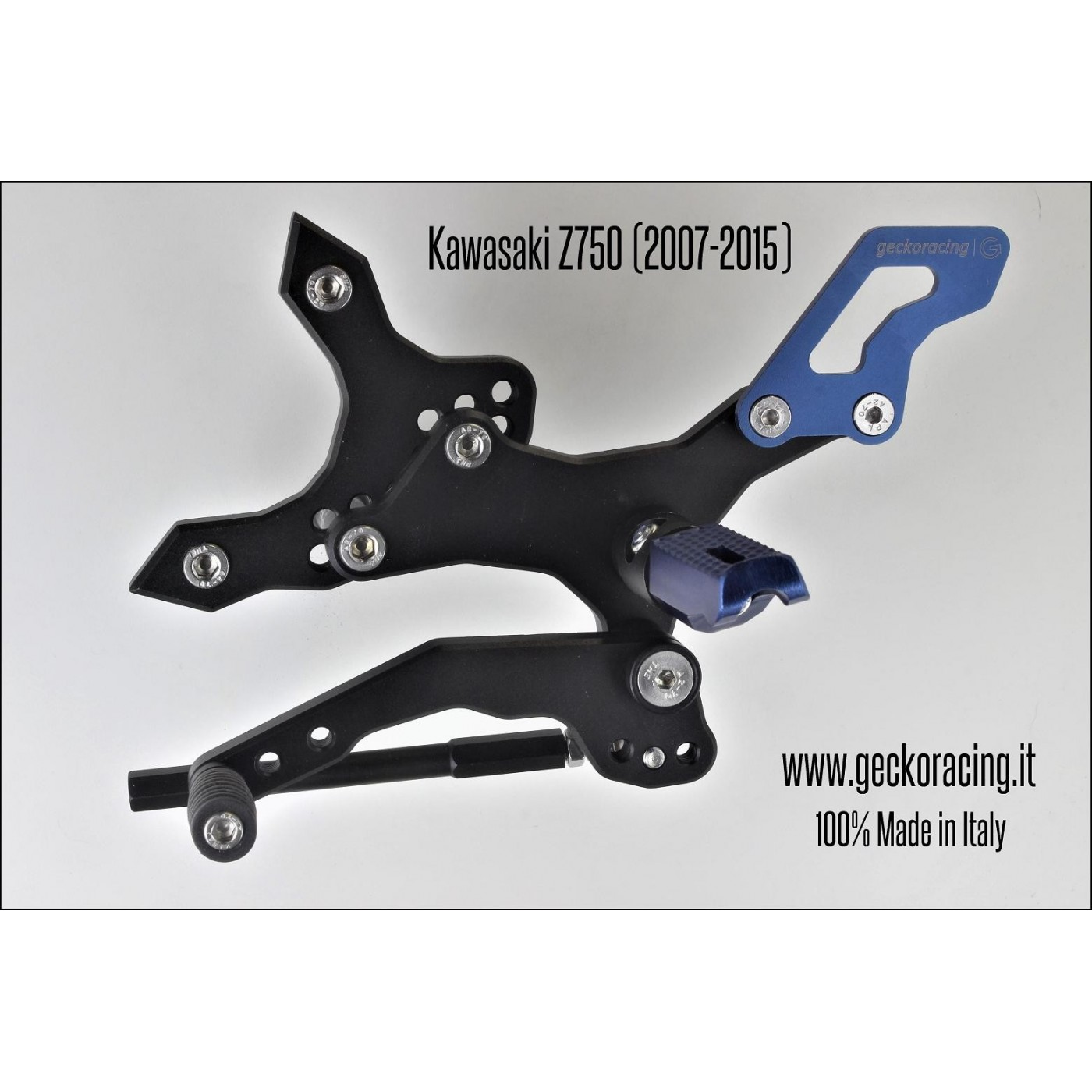 Rearsets Adjustable Kawasaki Z750 Gear