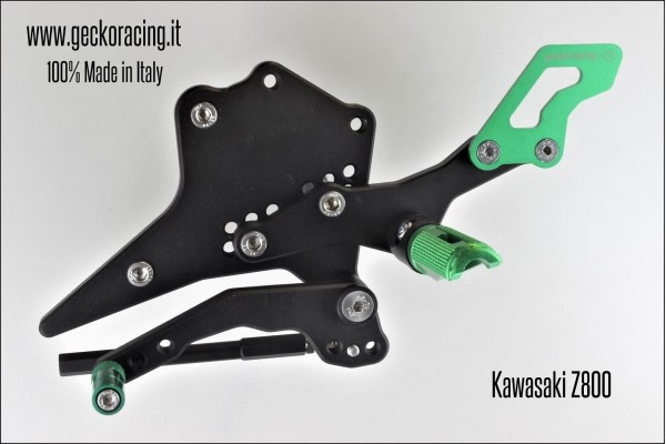 Rearsets Adjustable Kawasaki Z800 Gear